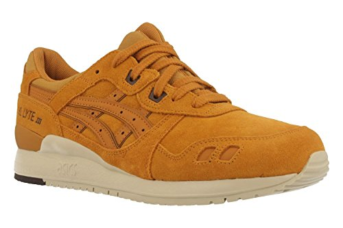 finest selection 936d5 9cece Asics Men s Gel-Lyte Iii Gymnastics Shoes, Gold (Honey Ginger Honey Ginger),  8 UK - Buy Online in Oman.   Shoes Products in Oman - See Prices, ...