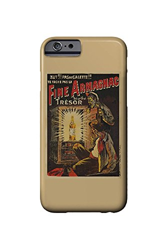 Fine Armagnac Vintage Poster (artist: Oge) France c. 1902 (iPhone 6 Cell Phone Case, Slim Barely There)