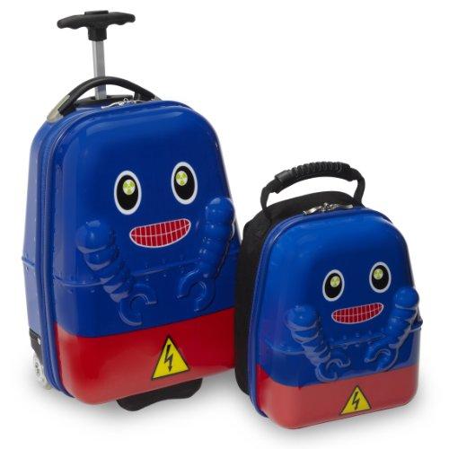 Travel Buddies Gepäck-Set, blau (blau) - TB105