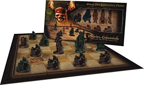 Pirates of the Caribbean - Collectors Chess Set by Cards Inc