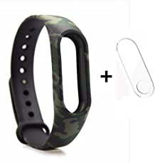 CHRONEX Replacement Army Style Design Wristband Band Strap - Large (Black)