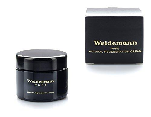 Weidemann | Pure Natural Regeneration Cream - Pflegend auf Natur-Basis – reichhaltige & hochwertige Bienenwirkstoffe mit Kräutern von blühenden Alpenwiesen aus der gesunden Bergwelt