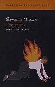 Dos cartas par Slawomir Mrozek