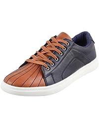 Metro Men Leather Flat Shoes (71-9220)