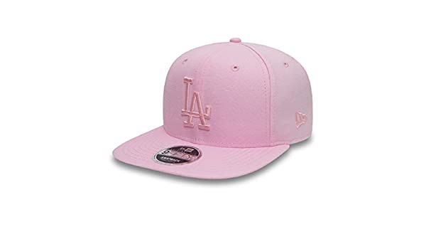 New Era Hats 9FIFTY L.A. Dodgers Snapback Cap - Oxford MLB - Pink   Amazon.co.uk  Clothing ea3604df3af7
