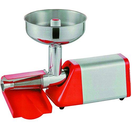 Gierre 9512010 Spremipomodoro Elettrico spremy 225w Utensili da Cucina, Acciaio Inossidabile