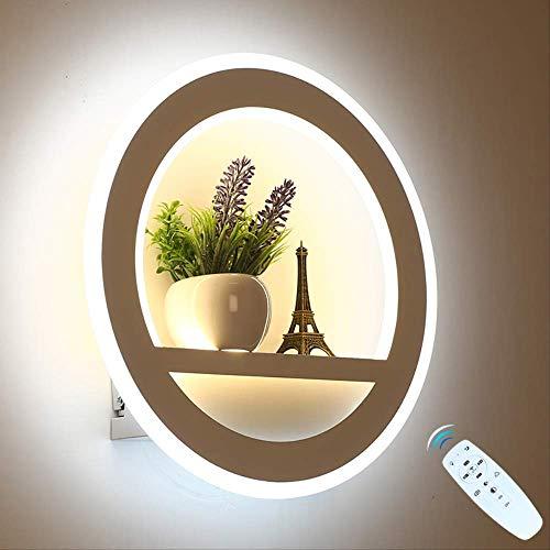 Aplique Pared Baño Dimmable 2.4g Control Remoto Moderno Dormitorio Sala De Estar Decoración Iluminación...