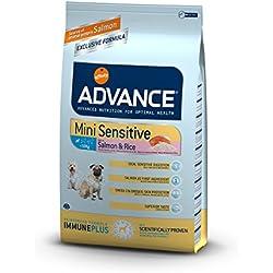 Advance Mini Sensitive salmon y arroz pienso para perros
