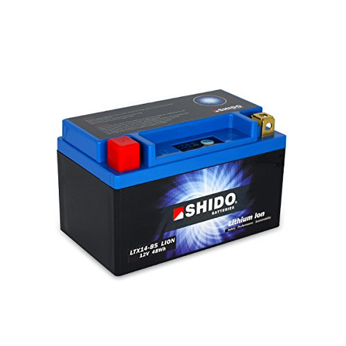 SHIDO LTX14-BS LION -S- Batterie Moto Lithium Ion