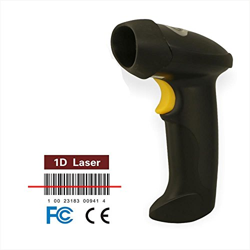 Macro Reer automatica Bar Code Scanner USB Wireless e Wired Laser Hand Scanner per Windows/Android (Wireless Handheld Dispositivo)
