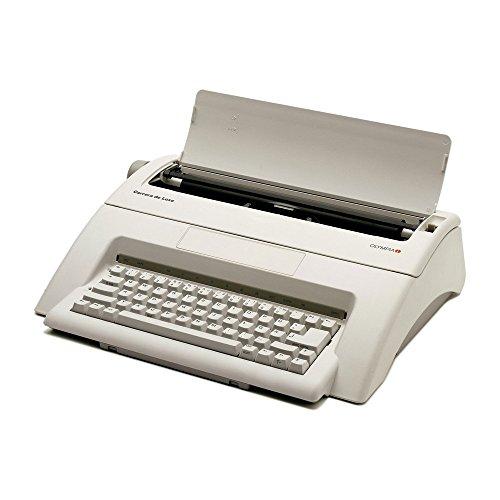 Olympia 252651001 Carrera de luxe Schreibmaschine, 10-15 Schriftgroesse