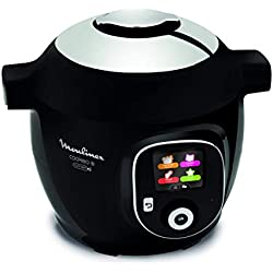 Moulinex Cookeo+ Connect Autocuiseur électrique, 6 litres, céramique
