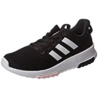 adidas Cloudfoam Racer TR Women's Road Running Shoes, Black, 6.5 UK (40 EU)