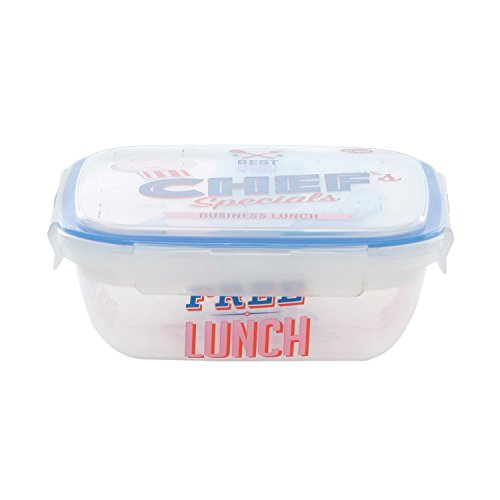 Lunch box snips con decoro vintage da 1,5 lt