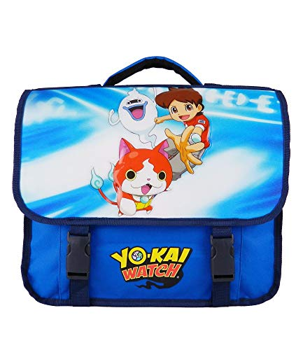 CARTABLE 38CM BLEU-YOKAI WATCH NINTENDO