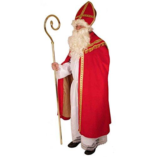 Kostüm Bischof / historischer St. Nikolaus / Santa Claus / Weihnachtsmann 4 teilig in Größe - Santa Claus Kostüm Kind