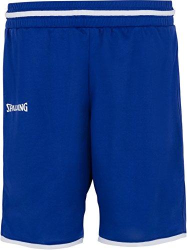 Spalding Damen Move Shorts, Royal/Weiß, M