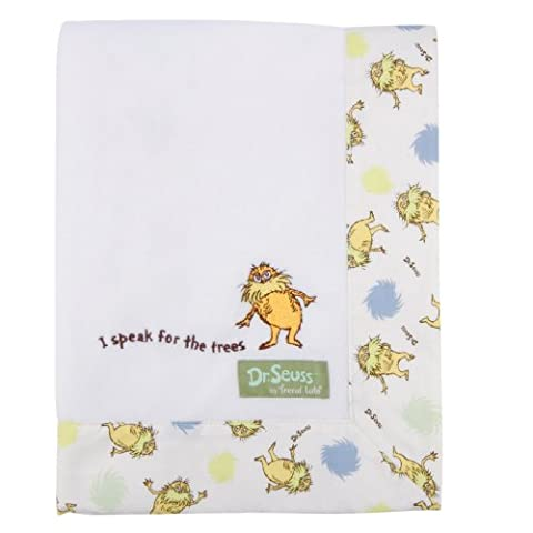 Trend Lab Dr. Seuss The Lorax Framed Receiving Blanket,