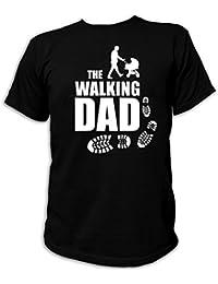 Artdiktat T-Shirt des Hommes - The Walking Dad - Poussette bébés père