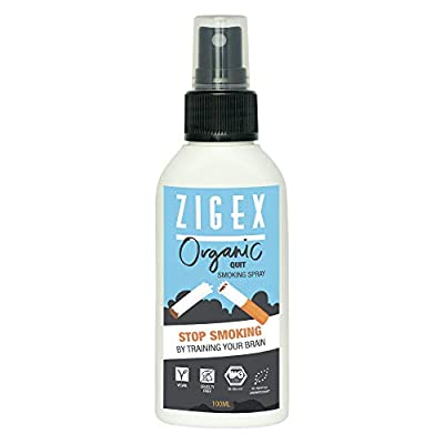 Stop Smoking Spray by ZigEx | Organic spray without nicotine 100ml | Alternative to e-cigarette & nicotine gum | Mouth spray for quit smoking from Vivere GmbH
