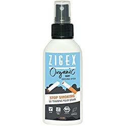 Endlich Nichtraucher mit dem Endlich Nichtrauchen Spray von ZigEx | Spray für die Rauchentwöhnung | Endlich Rauchen Aufhören |BIO Spray für Raucherentwöhnung