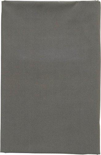 EMOOR Bezug 100% Baumwolle für traditionellen japanischen Boden Futon, 100% Baumwolle, grau, Volle Größe