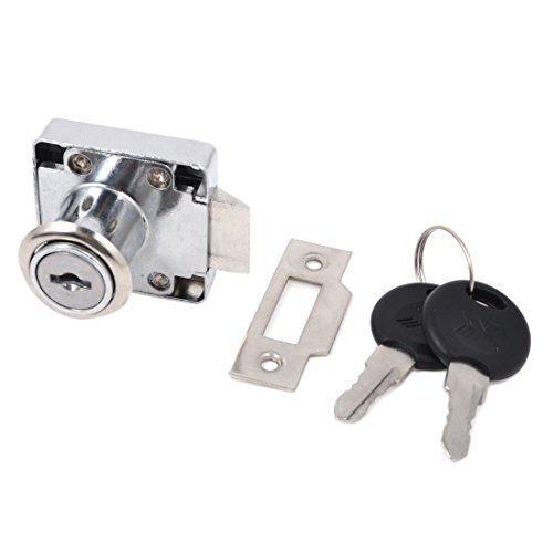 Schloss für zu Hause für Schubladen und Schranktüren Schlüssel Sicherheitsvorrichtung 39 mm x 39 mm B 2