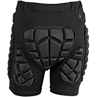 TTIO Hip Butt pad-eva protectora suave transpirable ligero ropa deportiva para esquí patinaje snowboard Hombres, mujeres, L