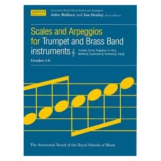 Associated Board Scales And Arpeggios Grades 1-8 Trumpet