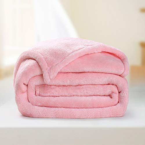 DMGY Manta Comfy Soft Thows Blanket, Doble Individual, Grande, Lavable, Duradera, Transpirable,...