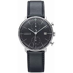 Junghans Men's Automatic Chronograph Strap Watch Max Bill Chronoscope 027/4601.00