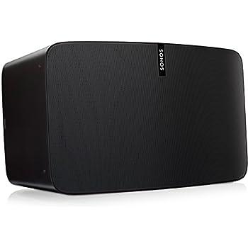 Sonos Play:5 WLAN-Speaker für Musikstreaming (Schwarz)