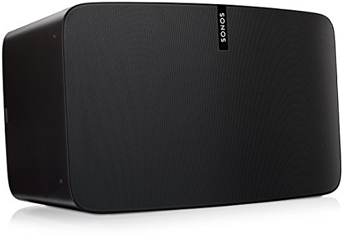 Sonos Play:5 WLAN Speaker, schwarz – Kraftvoller WLAN Lautsprecher mit bestem, kristallklarem Stereo Sound – AirPlay kompatibler Multiroom Lautsprecher