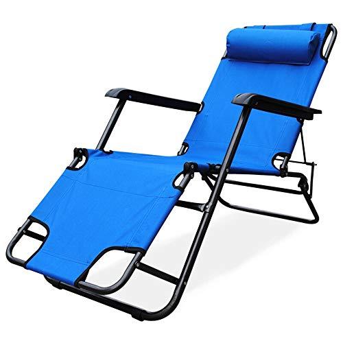 XBZDC Bequemer Lounge Chair, Recliner, Klappstuhl, 45-Grad-Anpassung Der Rückseite des Stuhls, Atmungsaktiver Stoff, Breites Bett, Leicht Zu Tragen -