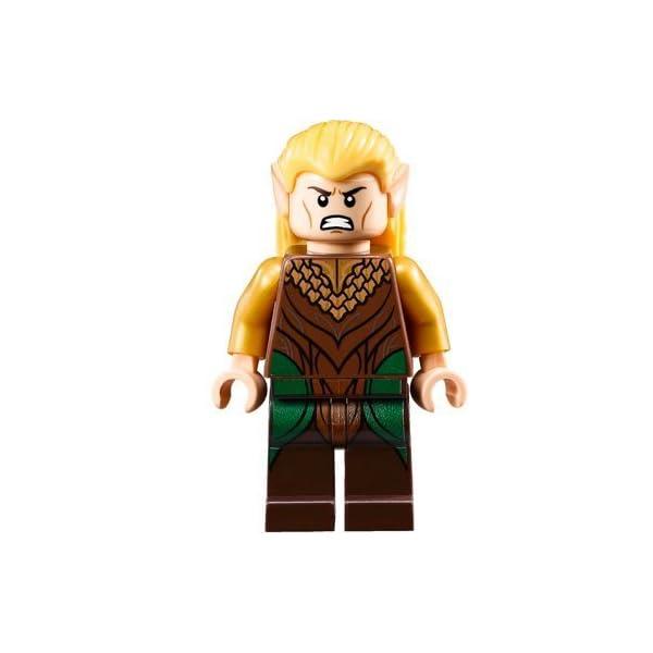 LEGO - El Hobbit:figura de Legolas, hoja verde (El Señor de los Anillos) 1