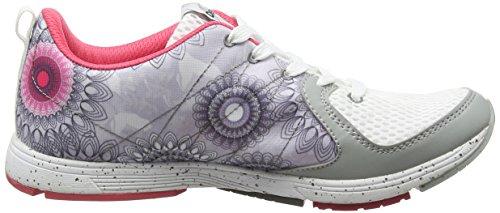 Desigual X Lite 2.0 B, Chaussures de Fitness Femme Blanc (Blanco 1000)