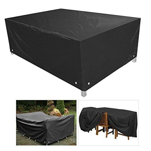 Housses pour meubles de jardin par Rosenice, imperméables, étanches à la poussière, 250x 250x 90cm