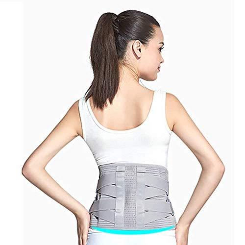 Sxuefang Corrector de Postura,CinturóN Apoyo para Espalda DiseñO Malla CáLido Y Transpirable, Dolor Cintura, Calor, CinturóN Deportivo, Corsé, Unisex