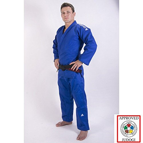 Adidas Champion II IJF Judo Gi Blau