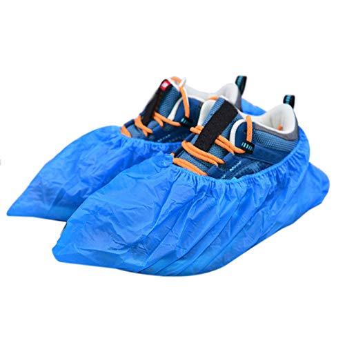 Xigeapg Wegwerfbare Stiefel- und Schuh Abdeckungen 100er Pack (50 Paar) rutschfest, Langlebig, Innen Schützen Sie Ihr Haus, Fu?b?den und Schuhe