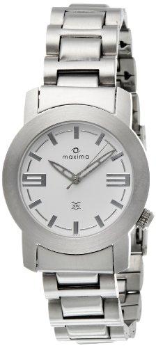 Maxima Attivo Analog White Dial Men's Watch - 04817CMGS image
