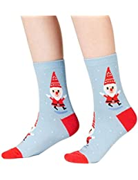 Sock It To Me - Niños Calcetines - Santa Gnome - Divertido Niños Calcetines con Santa