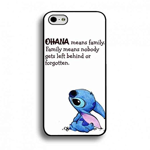 Populär Design Ohana Means Family Stitch Telefonkasten For Apple Iphone 6, Stitch Telefonkasten Hochwertigem Silikon Silicone Bumper Hülle, Apple Iphone 6s Stitch Telefonkasten