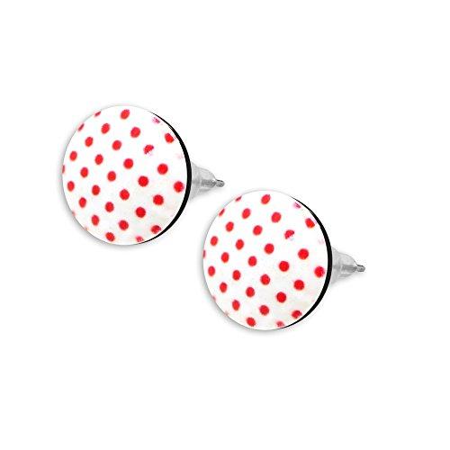 soul-catsr-1-par-de-lindo-pendiente-de-estudios-con-puntos-puntos-rockabilly-florales-rojo-modelo-ne