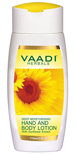 Vaadi Herbals Hand and Body Lotion with Sunflower Extract, 110ml