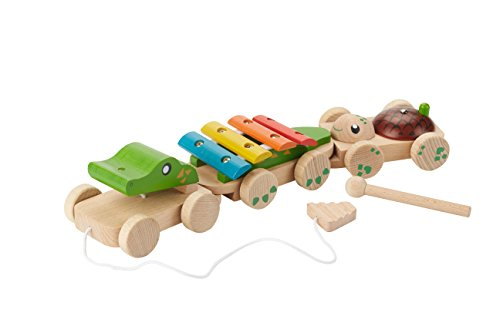 everearth-ee33677-crocodile-musical-a-tirer-multicolore