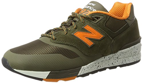 New Balance 597, Scarpe Running Uomo, Verde (Covert Green), 43 EU