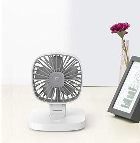 Florally USB Auto Ventilator, Auto Fan, 12V Auto Lüfter mit 3 Geschwindigkeiten, Auto Kfz Lüfter, Doppellüfter, Gebläse Klimaanlage Fan, Vertikal und Horizontal Einstellbar Ventilator, Leistung 4W (Klimaanlage Gebläse)