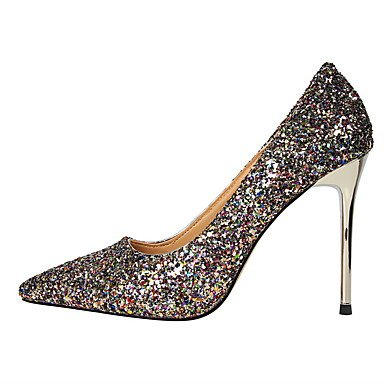 Moda Donna Sandali Sexy donna tacchi Comfort inverno abito Glitter Stiletto Heel Sequin più colori disponibili passeggiate Blue