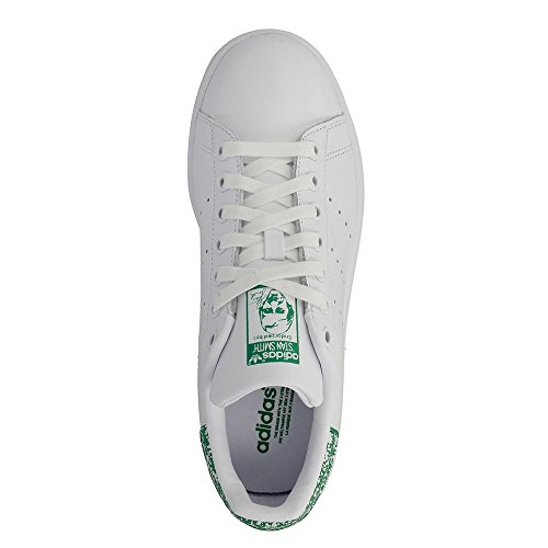 adidas  Stan Smith W, chaussures de course femme Multicolore (Ftwr White/ftwr White/green)